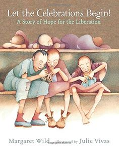 The holocaust is a very sad topic, but this author finds a way to highlight the hope in a very sad situation.  The people use parts of the little bit of clothes they have to make toys to use when they are set free.  They are hopeful that they will be set free soon. Review by Lucy H., age 8, Tampa Bay Mensa