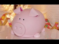 3D Schweinchen-Motivtorte | Glücksbringer | Schweinchentorte | Fondanttorte von Nicoles Zuckerwerk - YouTube