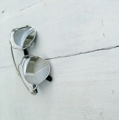 Tainted Love Sunglasses - Silver mirror lens