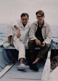 Jude Law & Matt Damon The Talented Mr Ripley