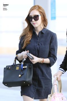 SNSD Jessica Jung's Airport Fashion ♥