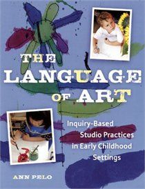 The Language Of Art- This book gives practical ways to put art into the regular classroom.  It uses Reggio Emilia as its main form to follow and helps inform teachers of how to structure their classrooms like Reggio.  It talks about many different medias to use in the classroom such as finger paint, clay and pen and ink.  It is a wonderful source for teachers who want to try integrating art but aren't really sure how to.