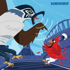 Seattle Seahawks! I love this, this is the Seahawks beating the AZ Cardinals! My cousins in AZ were upset, but knew we have another game with them. Thus giving the AZ Cardinals the chance to beat the Seahawks, but I think the Seahawks will beat them during the second match up! Go Hawks!!!