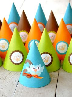 owl party hats
