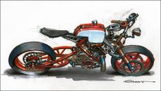 Motorcycle by Mechnology (-:-) Design Studio