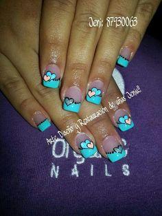 Acrylic Nail Art, Nail Art Diy, Diy Nails, Creative Nail Designs, Creative Nails, Nail Art Designs, Crazy Nail Art, Crazy Nails, Green Nail Designs