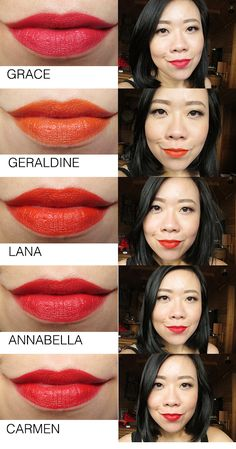 NARS Audacious Lipsticks Part Three - Swatches & Review