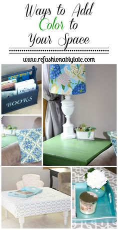 Ways to Add Color to