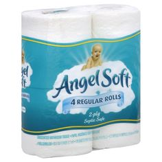 Angel Soft Bath Tissue, Only $0.50 at Kroger!