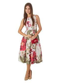 Vestido Midi Maxi Floral PP / FLORAIS