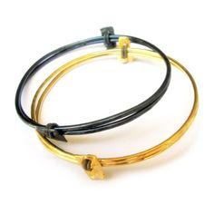 Bangle pairs - gold