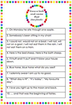 Name That Story Book game for Baby Shower or Baby Sprinkle. teachertypes.blogspot.com.au