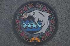 Michikusa Society: Part 2 powered by Livedoor blog to visit the manhole cover in the affected areas