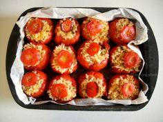 Rice Stuffed Tomatoes -  Pomodori al Riso