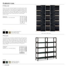 Cabinets and Bookcases | Armani/Casa