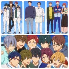 Free! Otaku Anime, Manga Anime, Free Kisumi, Anime Sports, Splash Free, Best Pictures Ever, Free Eternal Summer, Free Iwatobi Swim Club, Free Anime
