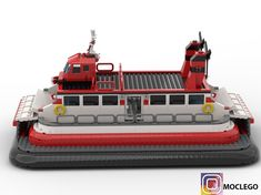 LEGO Hovercraft - building instructions and parts list. Juno Spacecraft, Lego Boat, Fake Baby, Lego Ship, Lego Spaceship, Lego Design, Lego Parts, Songs To Sing