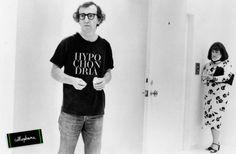 "WOODY ALLEN, STARDUST MEMORIES, 1980 WITH FAKE ""HYPOCHONDRIA"" TEE OF CELLOPHANE : WWW.HELLOCELLOPHANE.BIGCARTEL.COM"