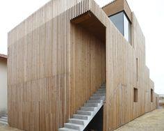 La Pibale | Atelier Ferret Architectures #architecture