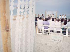 Captiva Island beach wedding ceremony by reign7photo.com