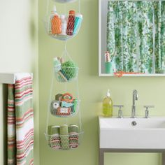 Great idea for a tiny bathroom with little or no counter space!