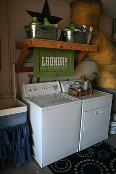 If I have to live with having the washer and dryer in the garage...I'm doing this!