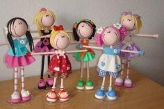 1 million+ Stunning Free Images to Use Anywhere Cute Crafts, Creative Crafts, Easy Crafts, Diy And Crafts, Arts And Crafts, Polymer Clay Figures, Cute Polymer Clay, Polymer Clay Crafts, Peg Doll