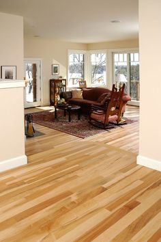 Maple Floors With Gray Walls Mayo Woodlands Modern Family Room Other Metro Vision Homes