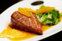 Duck a l'orange ... oh how I love French cuisine!