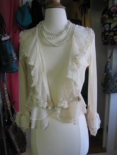 Love this frilly Cardigan!!