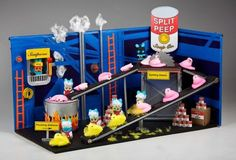 """Split Peep Soup Company""...I love the Washington Post Peeps Diorama Contest!"