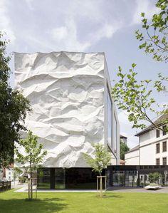 Gymnasium in der österreichischen Stadt Kufstein