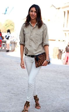 outfit of the week: parisian safari - I want to be her