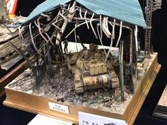 The Modelling News: Charlie's trip continues with his galleys of the Shizuoka Hobby Show 2017 - Tank, Military and AFV dioramas