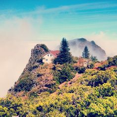 over the mountains in madeira