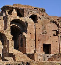 Ancient Roman Harbour, Ostia Antica, Rome, province of Rome Lazio