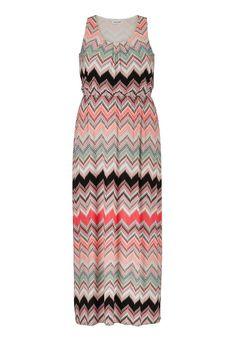 chevron stripe plus size maxi dress - maurices.com