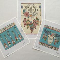 Alice Peterson Southwest/Indian needlepoint