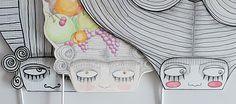 maschere cartone riciclato 3d - Cerca con Google