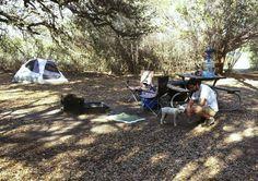 Hill County Natural Area Campsite
