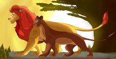 The Lion King 1994, Lion King Fan Art, Disney Artwork, Disney Drawings, Lion King Quotes, Simba And Nala, Le Roi Lion, Disney Lion King, Country Art