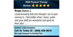 Loved knowing that even though i am in pain coming in, i feel better when i leave. justin...