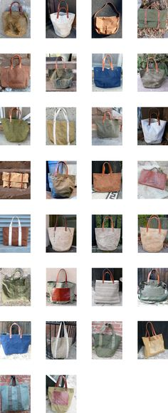 Bags, bags, and more bags