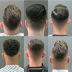Back of head men's haircut reference Barber Haircuts, Haircuts For Men, Hair And Beard Styles, Short Hair Styles, Gents Hair Style, Hair Cutting Techniques, Faded Hair, Hair Reference, Fade Haircut