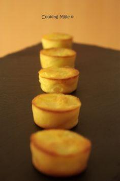 Minis clafoutis aux poires