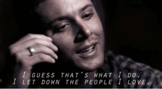 16 Stages Of Realizing Your Favorite Show Has No Fandom, as told by Supernatural gifs, of course.