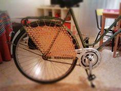 Las bicicletas se ponen bonitas en primavera!!  Nuevos productos en www.madamehojaldre.es