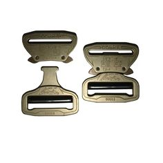 Designed and manufactured in Austria, the Cobra Buckles are, without equal, the world's safest, most finely crafted, and strongest load bearing quick release fasteners available. The AustriAlpin Cobra Buckles tensile strength is 18Kn.