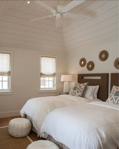 Guest bedroom // Beach Cottage in the Bahamas