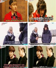 Sehun The Trolling King XD